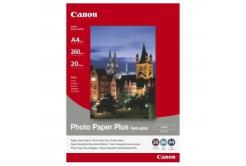 Canon SG-201 Photo Paper Plus Semi-Glossy, hartie foto, félig lucios, szatén, alb, A4, 260 g/m2, 20 buc