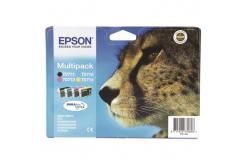 Epson T07154012 azuriu/purpuriu/galben/negru (cyan/magenta/yellow/black) cartus original