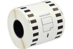 Brother DK-22212, 62mm x 15,24m, alb, rola etichete compatibil