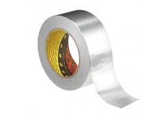 3M 1436 Banda adeziva din aluminiu cu suport din hârtie, tl. 0,075 mm, 50 mm x 50 m