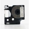 Banda compatibila Dymo 53710, S0720920, 24mm x 7m, text negru / fundal transparent
