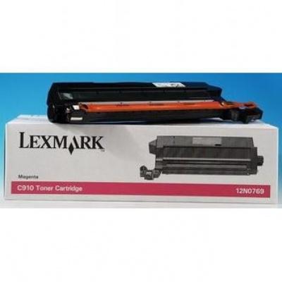 Lexmark 12N0769 purpuriu (magenta) toner original