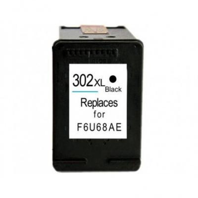 HP 302XL F6U68AE negru (black) cartus compatibil