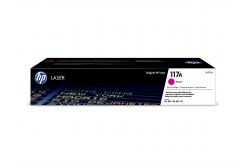 HP 117A W2073A purpuriu (magenta) toner original