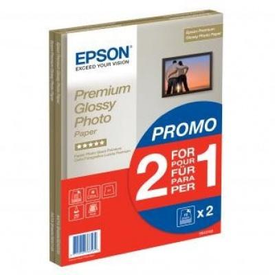 Epson S042169 Premium Glossy Photo Paper, hartie foto, lucios, alb, A4, 255 g/m2, 30 buc