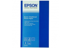 Epson S045052 Traditional Photo Paper, hartie foto, satin, alb, A2, 330 g/m2, 25 buc