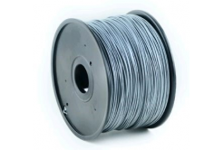 Gembird 3D filament ABS, 1,75mm, 1kg, argintiu