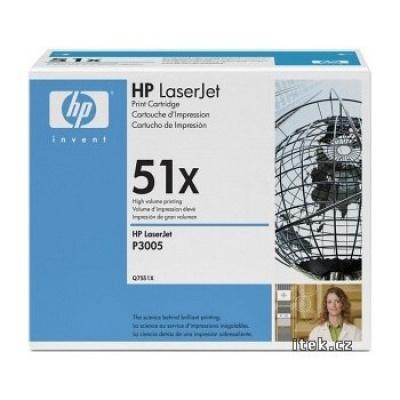 HP 51X Q7551X negru toner original