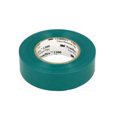 3M Temflex 1300 benzi electroizolante, 15 mm x 10 m, verde