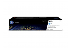 HP 117A W2071A azuriu (cyan) toner original