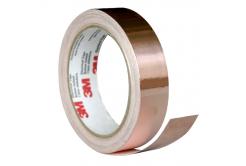 3M 1181 Banda adeziva de cupru, 9 mm x 16,5 m