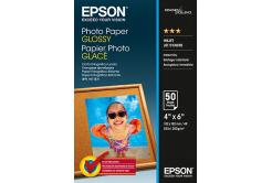 Epson S042547 Premium Glossy Photo Paper, hartie foto, lucios, alb, 10x15cm, 200 g/m2, 50 buc