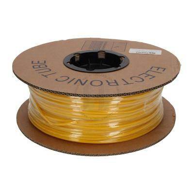 Marcaj tub din PVC rotund cu grosimea BA-25Z, 2,5 mm, 200 m, galben