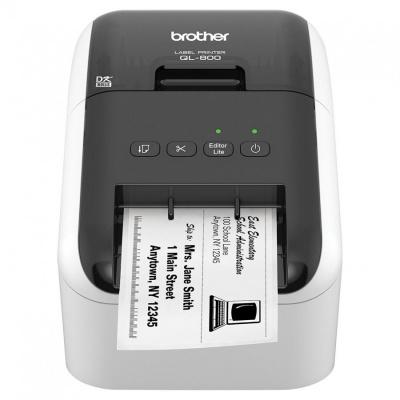 Brother QL-800 QL800YJ1 imprimanta de etichete