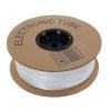 Marcaj tub din PVC rotund cu grosimea BA-55, 5,5 mm, 200 m, alb