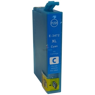 Epson T3472 azuriu (cyan) cartus compatibil