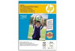 """HP Q8696A Advanced Glossy Photo Paper, hartie foto, lucios, alb, 13x18cm, 5x7"""", 250 g/m2, 25 buc"""