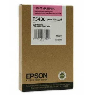 Epson C13T543600 purpuriu deschis (light magenta) cartus original