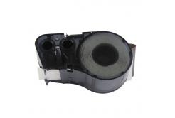 Brady M21-750-595-WT / 142797, vinyl, 19.05 mm x 6.40 m, text negru / fundal alb, banda compatibila