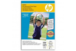 "HP Q8691A Advanced Glossy Photo Paper, hartie foto, lucios, alb, 10x15cm, 4x6"", 250 g/m2, 25 buc"