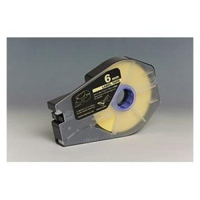 Bandă adezivă compatibilă pentru Canon M-1 Std/M-1 Pro / Partex, 6mm x 30m, kazeta, galben