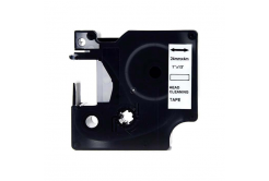 Dymo 5379C, 24mm x 4m, text negru / fundal alb, curatenie, banda compatibila