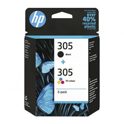 HP cartus original 6ZD17AE, HP 305, HP DeskJet 2300, DeskJet 2710, DeskJet 2720, DeskJet