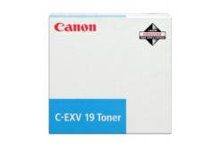 Canon C-EXV19 0398B002 azuriu (cyan) toner original