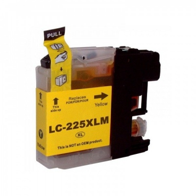 Brother LC-225XL galben (yellow) cartus compatibil