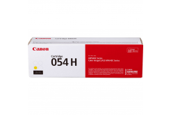 Canon toner original 054HY, yellow, 2300 pagini, 3025C002, high capacity, Canon i-SENSYS LBP621Cw, 623Cdw, MF641Cw, 643Cdw, 645Cx