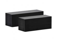 Evolis C8122 50x120mm card PVC, negru mat, 100buc.