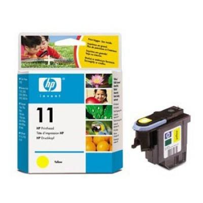 HP 11 C4813A galben (yellow) cap de imprimare original