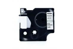 Dymo 4589C, 19mm x 4m, text negru / fundal alb, curatenie, banda compatibila