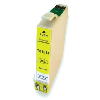 Epson T1814 XL galben (yellow) cartus compatibil