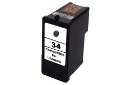 Lexmark 34XL 18C0034E negru (black) cartus compatibil