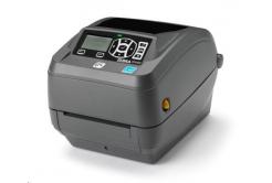 Zebra ZD500 ZD50043-T1EC00FZ imprimante de etichetat, 12 dots/mm (300 dpi), peeler, RTC, ZPLII, BT, Wi-Fi, multi-IF (Ethernet)