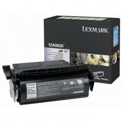 Lexmark 12A0829 negru (black) toner original