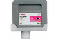 Canon PFI-301M, 1488B001 purpuriu (magenta) cartus original