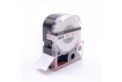 Epson LC-SS24RW, 24mm x 8m, text rosu / fundal alb, banda compatibila