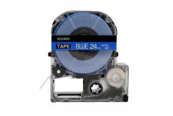 Epson LC-SD24BW, 24mm x 8m, text alb / fundal albastru, banda compatibila