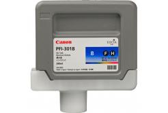 Canon PFI-301BL, 1494B001 alb (blue) cartus original