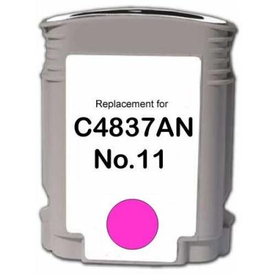 HP 11 C4837A purpuriu (magenta) cartus compatibil