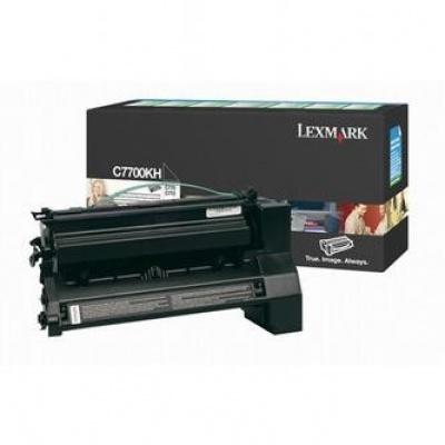 Lexmark C7700KH negru toner original