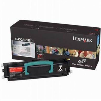Lexmark E450A21E negru toner original