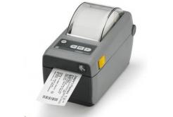 Zebra ZD410 ZD41022-D0EW02EZ imprimante de etichetat, 8 dots/mm (203 dpi), MS, RTC, EPLII, ZPLII, USB, BT (BLE, 4.1), Wi-Fi, dark grey