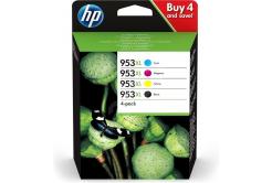 HP cartus original multipack 3HZ51AE, HP 953XL, CMYK, 1600CMY-2000K pagini, HP