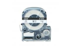 Epson LC-SS9KW, 9mm x 8m, text negru / fundal alb, banda compatibila