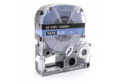 Epson LC-SD9BW, 9mm x 8m, text alb / fundal albastru, banda compatibila