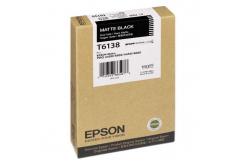 Epson C13T613800 mat negru (matte black) cartus original