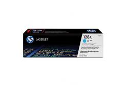 HP 128A CE321A azuriu (cyan) toner original